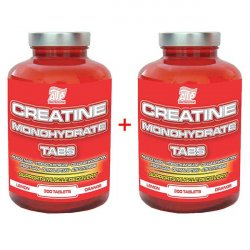 CREATINE MONOHYDRATE TABS. - 300tbl. + 300tbl.